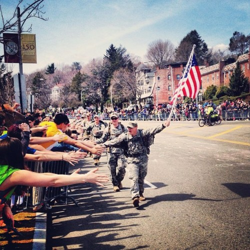 michaelfromtexas:  Mile 21 of the Boston Marathon