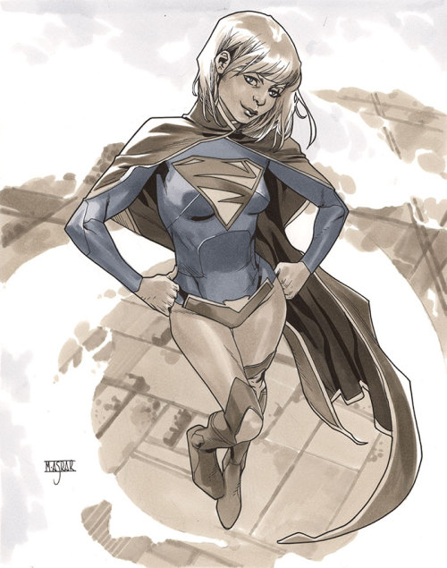 mahmudasrar:  Supergirl IV - London Super Comic Con 2013 Pre-Show Commission.