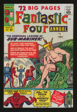 Fantastic Four Annual #1(Sep. 1963)