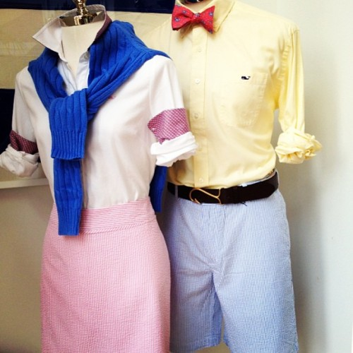 Vineyard Vines. #prep #preppy #mannequin #trad #display #newport #newportbeach #greatlook #awesome #spring #summer #visual #window