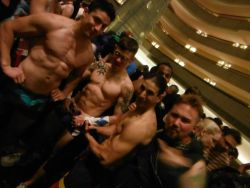 gaycomicgeek:  More of the Superhero Underwear Party pics have started to surface. I've post a couple on my site- www.gaycomicgeek.comSurprisingly, I was not groped anywhere near as much as last year. http://gaycomicgeek.com/dragoncon-2014-superhero-underwear-party/