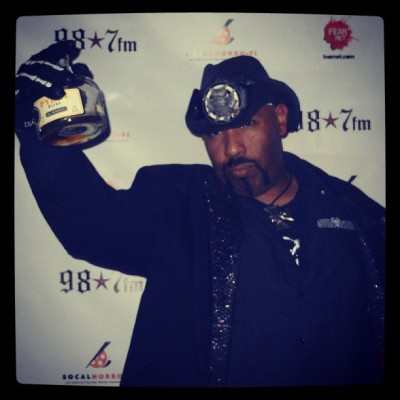 A bottle kf #Rum on the #redcarpet. Nice. #HorrorFiBigBearFestival #horrormovies #Party