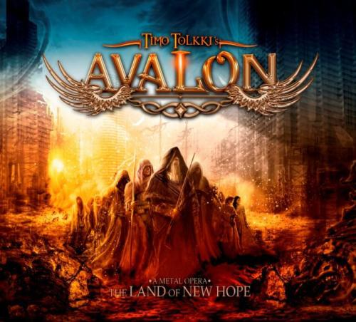 swordshymn:  Timmo Tolkki's Avalon - The Land Of New Hope more metal in Sword's Hymn