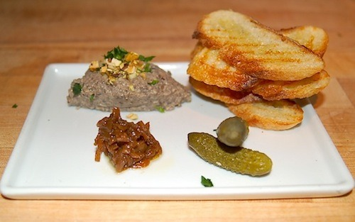 LA Weekly celebrated Meatless Monday this week with vegan pâté from BLD in Los Angeles. And yes, they have the recipe! You know our Megan loves (LOVES) the Regal Vegan's Faux Gras, and pâté is terribly chic to serve alongside your artisan vegan cheese, locally sourced and cultured pickled vegetables, and homemade antipasti. So let's make it! [disclosure: LA Weekly is owned by the same company that owns the paper I work for. photo by Anuar Pinto Velasco for LA Weekly]