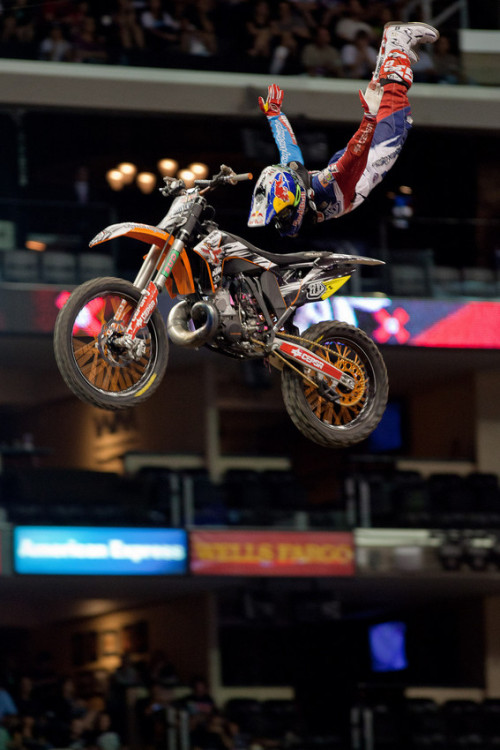 A day in the life of Freestyle Moto athlete, Dany Torres: http://bit.ly/XPhFrm