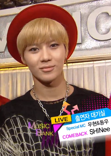 i love his hair blonde taemin!!