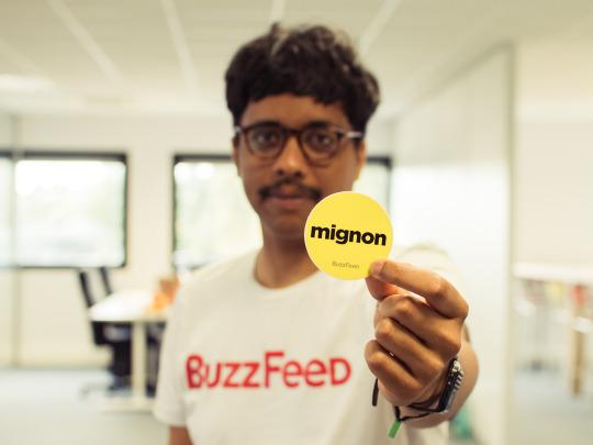 Eric Ratiarison, responsable des réseaux sociaux de BuzzFeed France