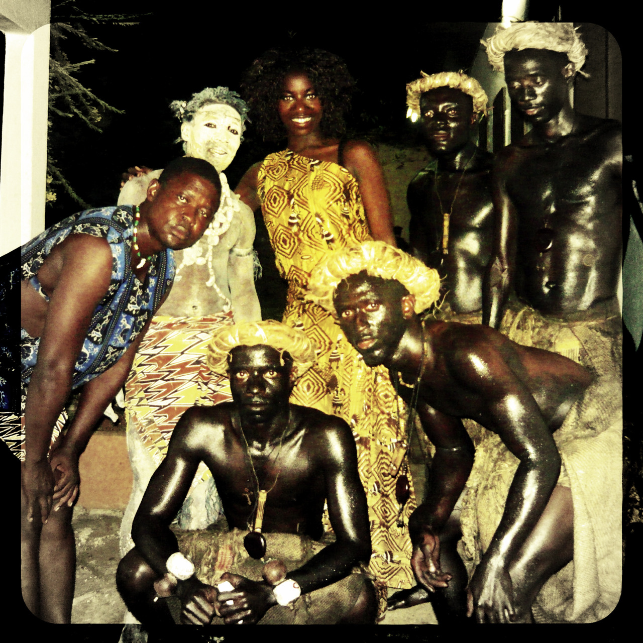 """Traditional Dancers"", ©Noumbissi Design, 2012"