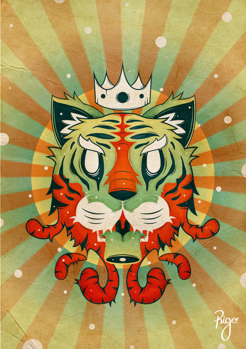 Tigur KingSelf Project - Radiant tiger king.