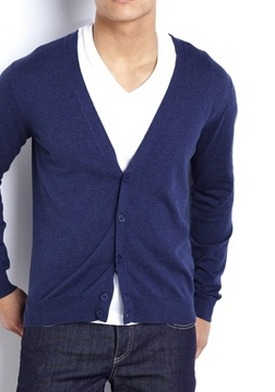 Pure Cotton Button-Up Cardigan by La Redoute http://goo.gl/RJDiZ