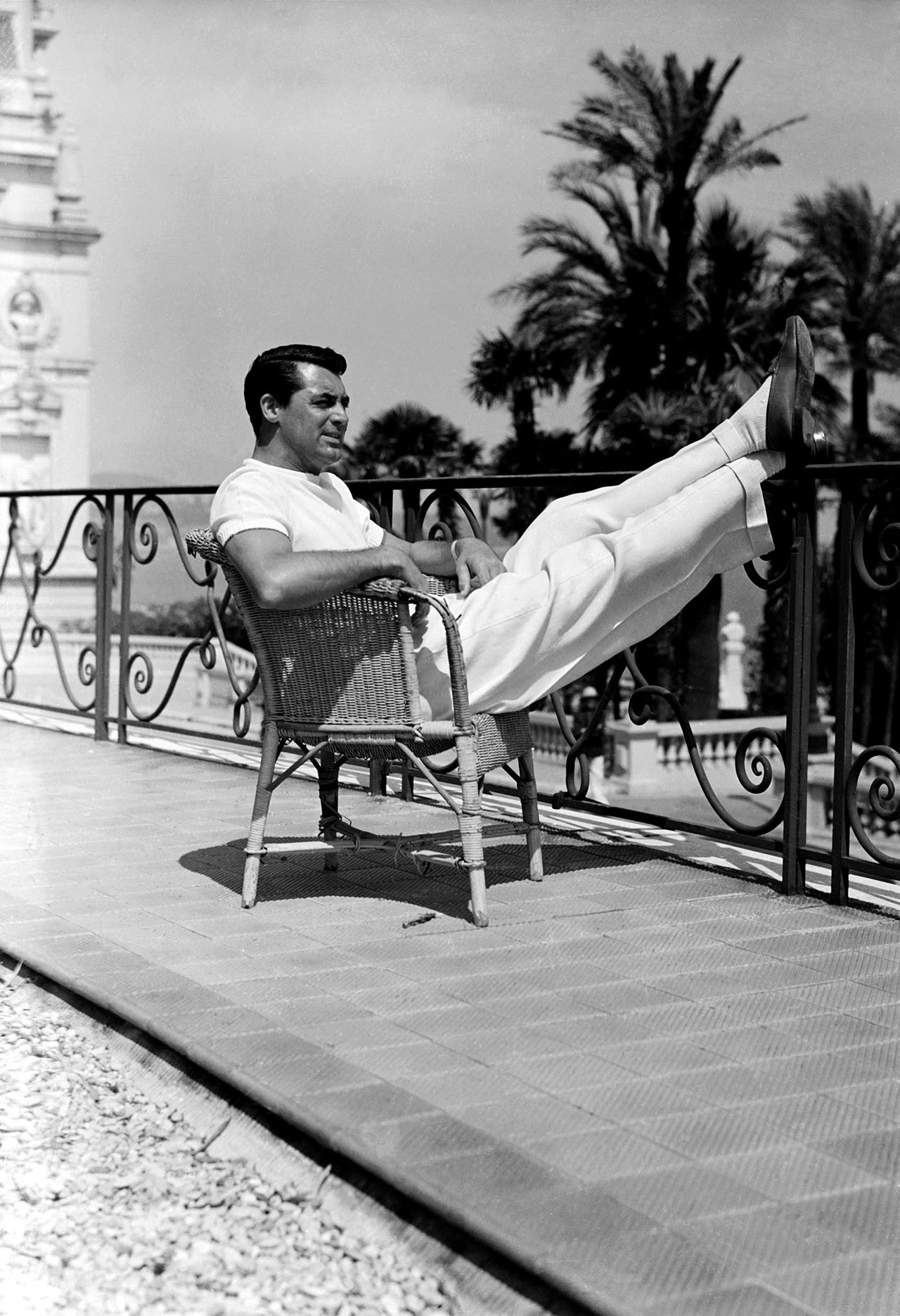 voxsart:  Finally, In Hi Res. That Cary Grant shot.