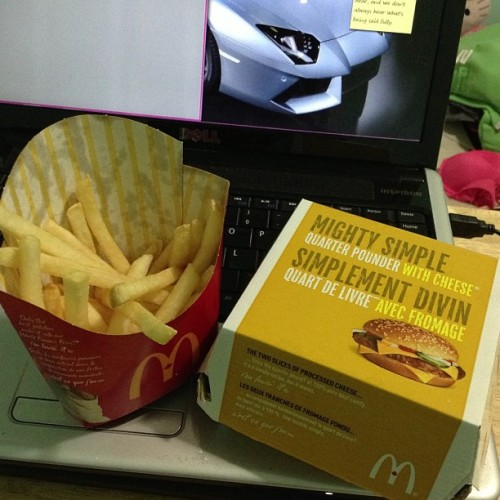 forever-and-alwayss:  to be fair, I have not had mcdombles in a really long time. That is all