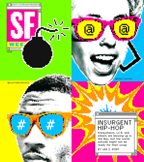 SF Weekly, August 3, 2011Art director: Andrew J. NilsenIllustration: Andrew J. Nilsen