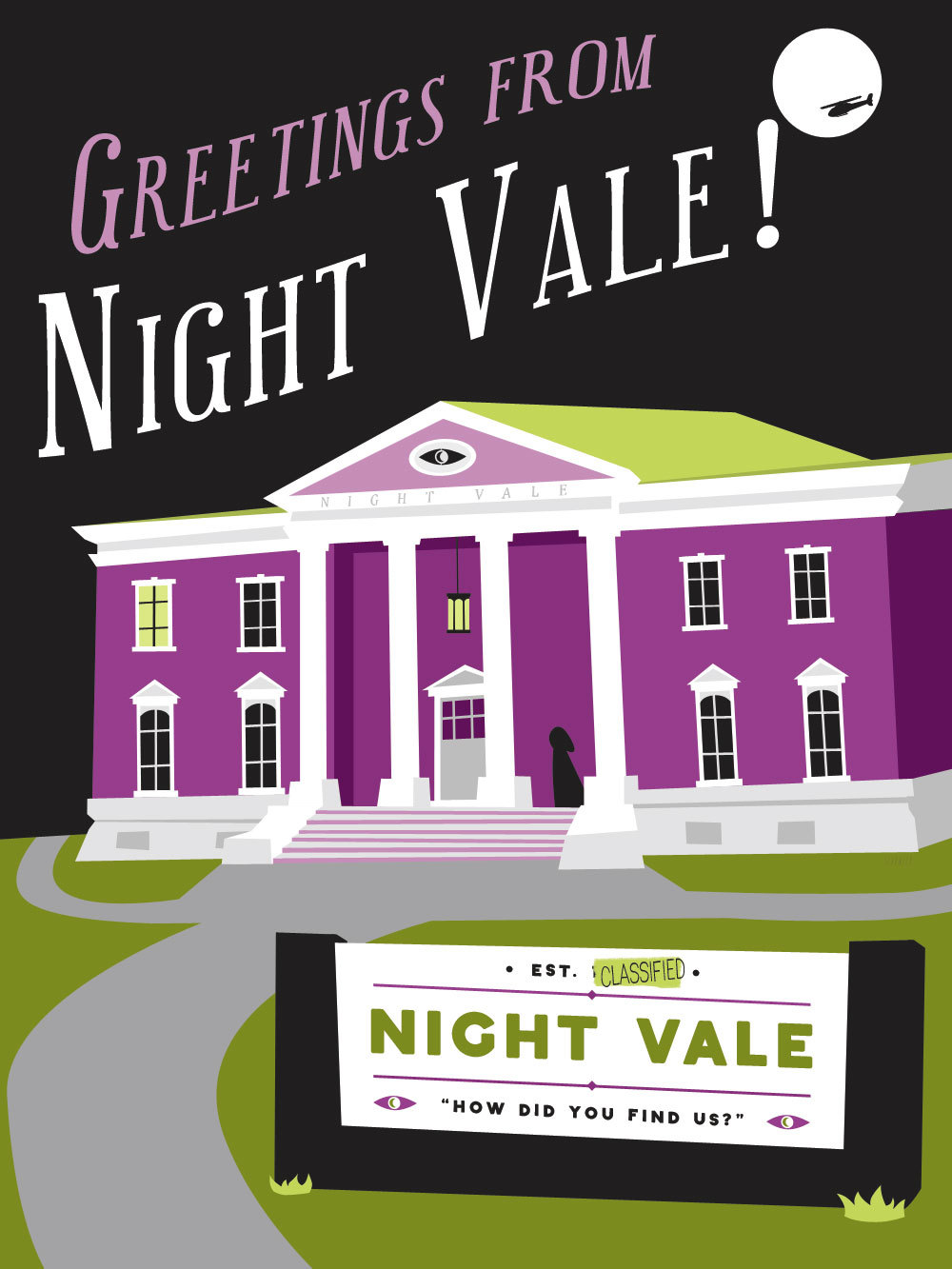 Night Vale is not so easily found.