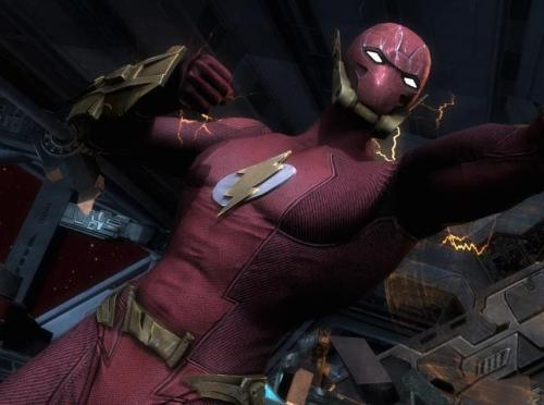 The Flash's Elseworld's Finest skin confirmed for Injustice: Gods Among Us.