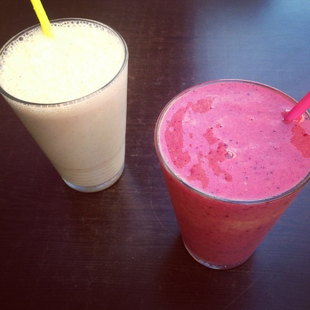 Smoothie time. Tutti frutti et Mojo.