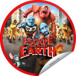 I just unlocked the Escape from Planet Earth Box Office sticker on GetGlue                      4957 others have also unlocked the Escape from Planet Earth Box Office sticker on GetGlue.com                  Wasn't that a stellar movie? Thank you for seeing Escape from Planet Earth in theaters and for checking-in.  Share this one proudly. It's from our friends at Weinstein Company.