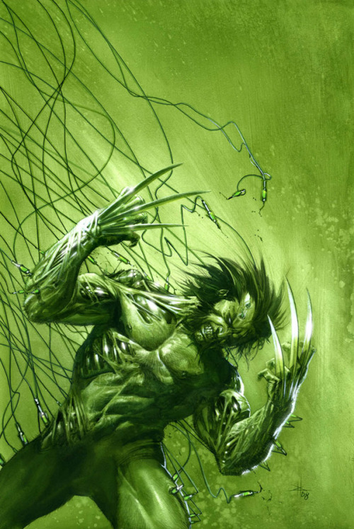astonishingx:  Weapon X by Gabriele Dell'Otto