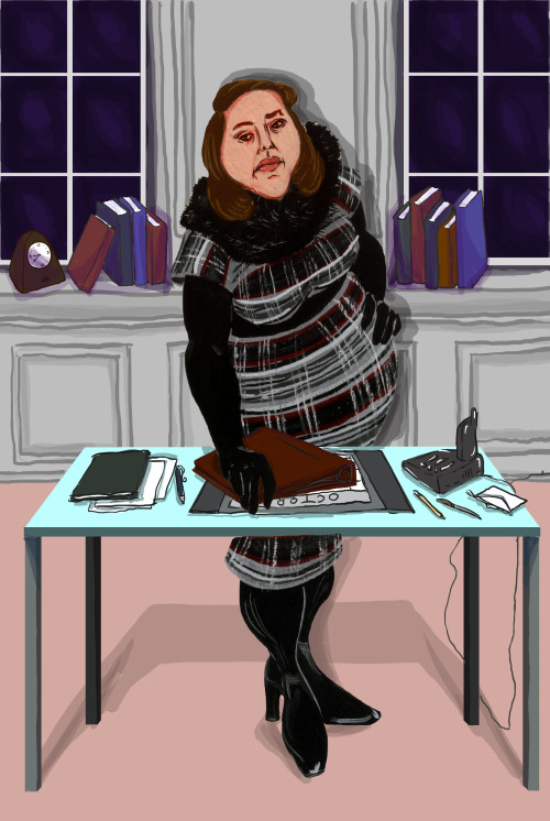 Annie Wilkes wears Chanel and kills it as editor in chief