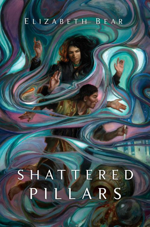 matociquala:  SHATTERED PILLARS release day! Get it while it's hot!  My preordered copy is in the maaaaail~  (guys guys guys look at this Donato cover. I saw it finished in his studio and somehow restrained myself from stealing it. It was not easy.)