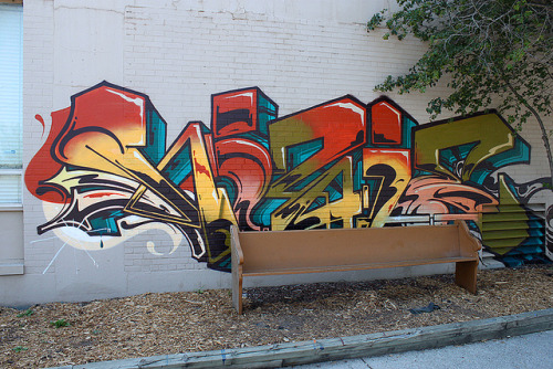 Detroit Graffiti on Flickr.Vizie graffiti piece in Detroit, Michigan - Snake Oil Salesman