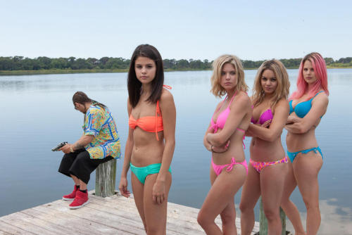 ‏@museproductions: #SpringBreakers drops at midnight. Here's a shot to tide you over.