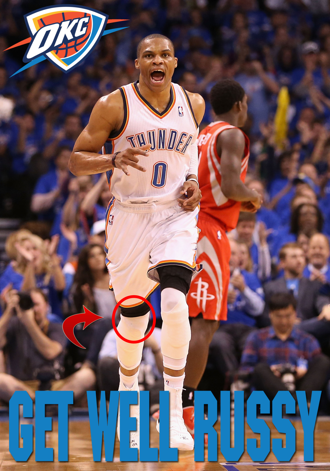 BREAKING: Russell Westbrook will be out indefinitely after having surgery.