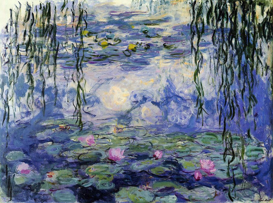 bluepine:  cosmicadoration:   Claude Monet  so in love with this painting  saw this exhibition yesterday, so amazing