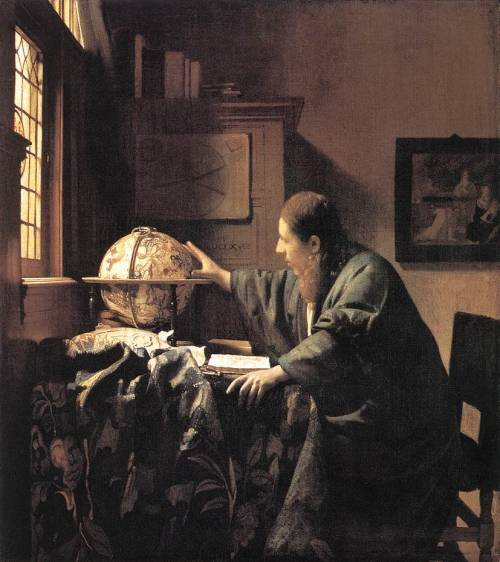 The Astronomer Jan Vermeer, 1668