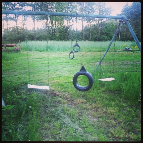 Lonely, Vaguely Pedophilic Swing Set Seeks the Butts of Children.