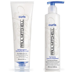 Calling curly haired girls! Enter for a chance to score a set of Paul Mitchell Curls Spring Loaded Shampoo and Full Circle Conditioner now!