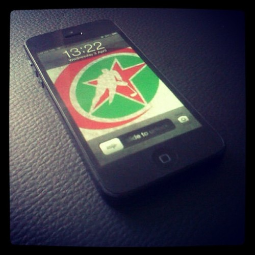 iPhone 5 Hockey Algeria edition #apple #iphone #iphone5 #hockey #algeria #algerian #teamalgeria #teamdz