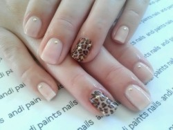 Leopard and nude for mom