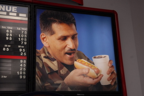 Put that wiener in your mouth soldier… FOR AMERICA