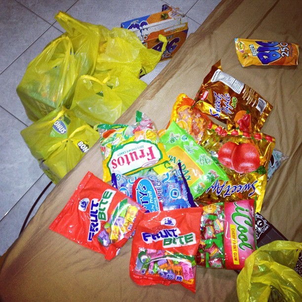 "Getting ready for tomorrow :"">"