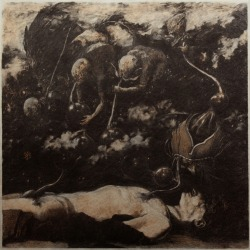 red-lipstick:  Denis Forkas Kostromitin (Russian) - Burial I, 2011     Drawings: Pastels