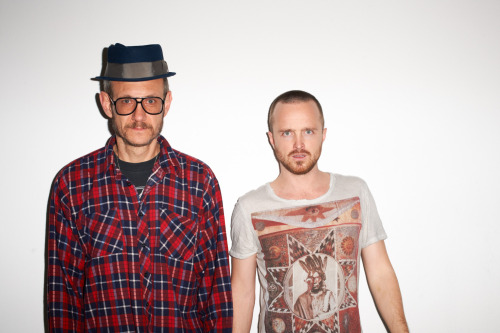 terrysdiary:  Me and Aaron Paul #4