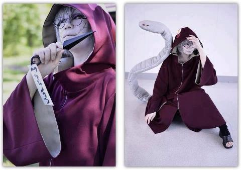 bestcosplayphotos:  。✖ Kabuto 。✖ For more cosplay : ▼
