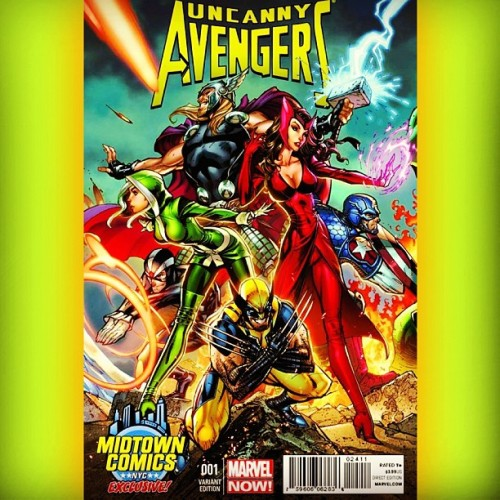 #UncannyAvengers #MidtownComics #Variant #Thor #Havok #Rogue #CaptainAmerica #ScarletWitch #Wolverine #Marvel #comics #comicbooks #comicbooklegion #comicbookcrusader #comicbookrenegade #MarvelNow