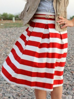 (via It's a Shore Thing by Jack & Lulu / Red and White stripes)