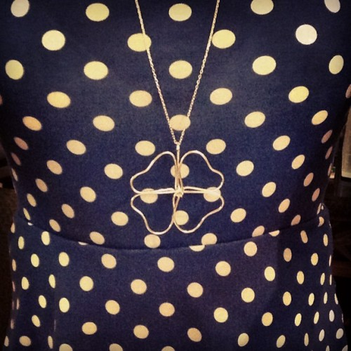Clover collection #new #collection #clover #necklace #silver #fashion #polkadot #welovetous #touslovepics #tousjewelry #tousbocaraton #tous