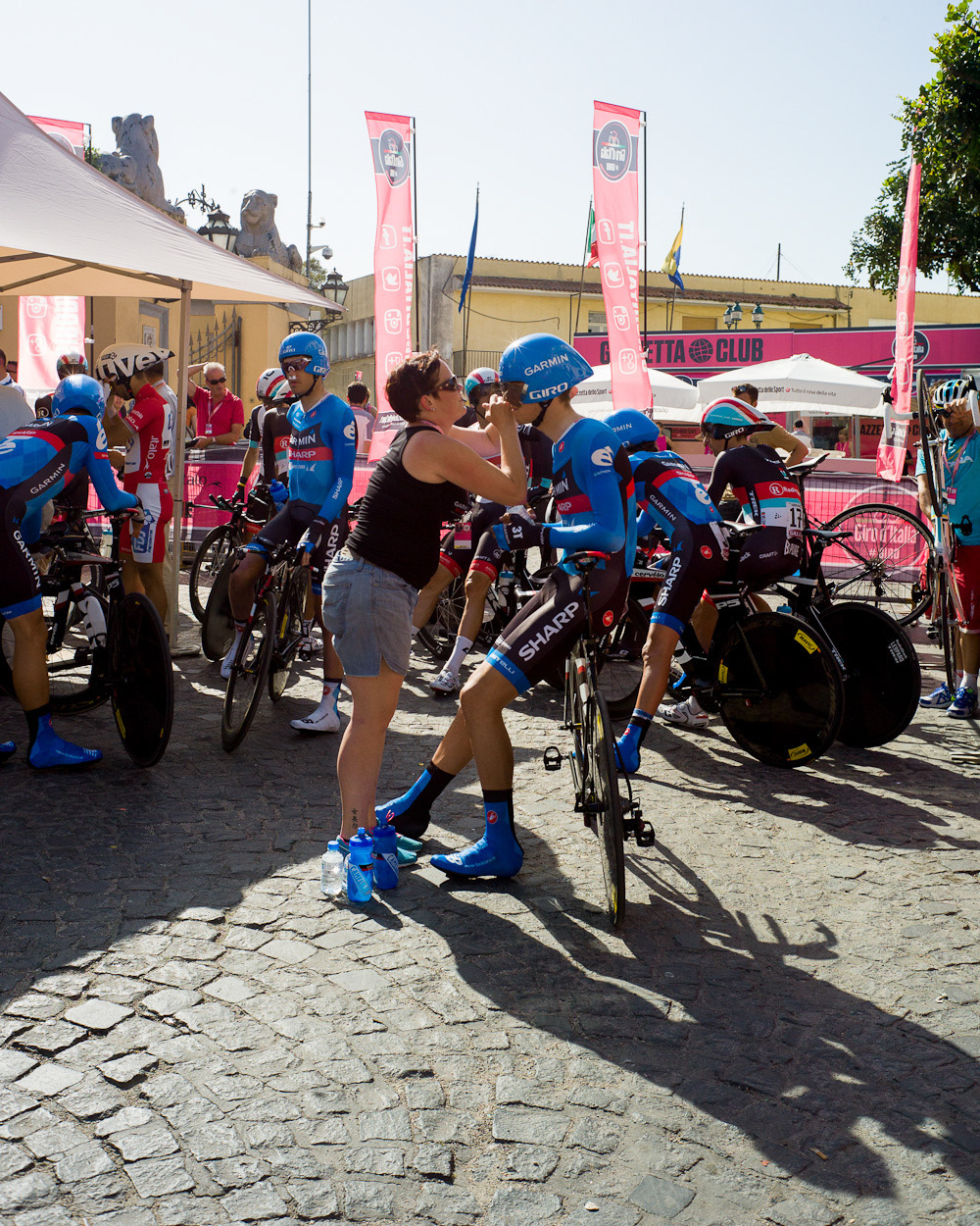 "MFS + GIRO D'ITALIA 2013So here's the thing with sports photography for me - pro cycling, in particular. There's the ""default"" or ""stock"" images that you expect to see throughout bike races, and then there's Manual for Speed. MFS continues to be successful with showing the viewers and fans the parts and people of the race that we don't necessarily expect, yet can learn to appreciate, and I love them for that."