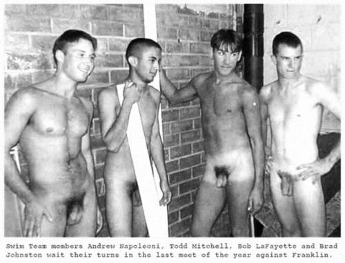 Men Swimming Nude 23