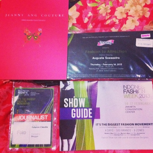 Late post. #invitation #fashionshow #fashionweek #fashionshowinvitation #fashionweekinvitation #pressid #schedule #collection #catalogue #augustesoesastro #newyork #jeannyang #journalist