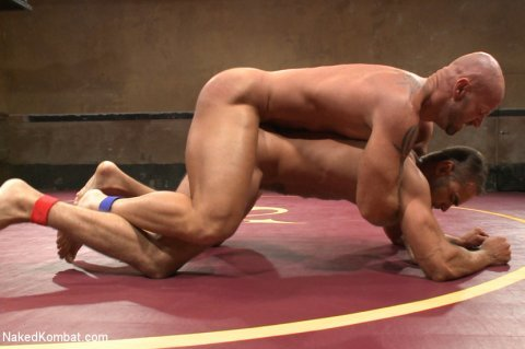 Naked KombatMitch Vaughn vs Brock AveryVideo at http://gogng.co/8ijvkMore at http://RoughGnG.com