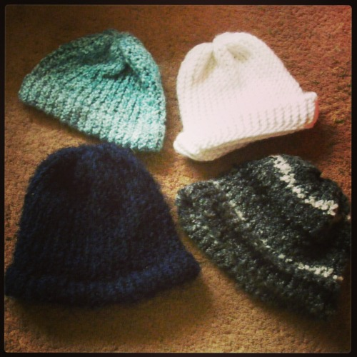 ganitsirk:  ganitsirk:  Hey! A giveaway!I knit hats and people like them, so here - win a custom-made hat from me. Reblog this post by January 13th at MIDNIGHT *11:59 PM* (Pacific time) [I changed it by 1 minute to clear up the 'which midnight?' confusion] for a chance to win a hat that I will make just for you. I know that's not a ton of time, but I want to be able to make the hat and send it to the winner while it's still winter! Unless you live in the southern hemisphere, I guess. You get to choose what color, how bulky, fuzzy or not fuzzy, loose or snug, brim or no brim, and whether you want a pompom on top (sorry in advance if the pompom is shitty). I'll make it however you want it and send it to you! These are some examples of hats that I have made in the past. Pretty neat, right?The Rules: Reblog ONCE - if you reblog multiple times I won't count any of your entries because that shit's annoying Likes don't count Must be following me (ganitsirk.tumblr.com) Must have your ask box open so I can contact you - if you win and your ask box isn't on, I'll choose someone else Must be willing to give me an address to send it to (duh) Worldwide! I'll ship to anywhere!  This ends in like 2.5 hours.Last chance to win.   I'd love a hat!