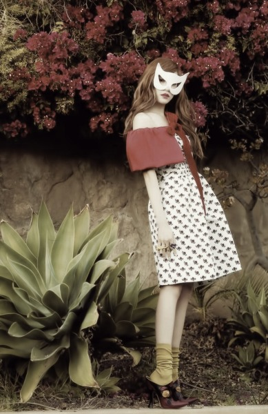 SNSD's Tiffany in Prada and Miu Miu for Vogue Girl Korea, March 2012