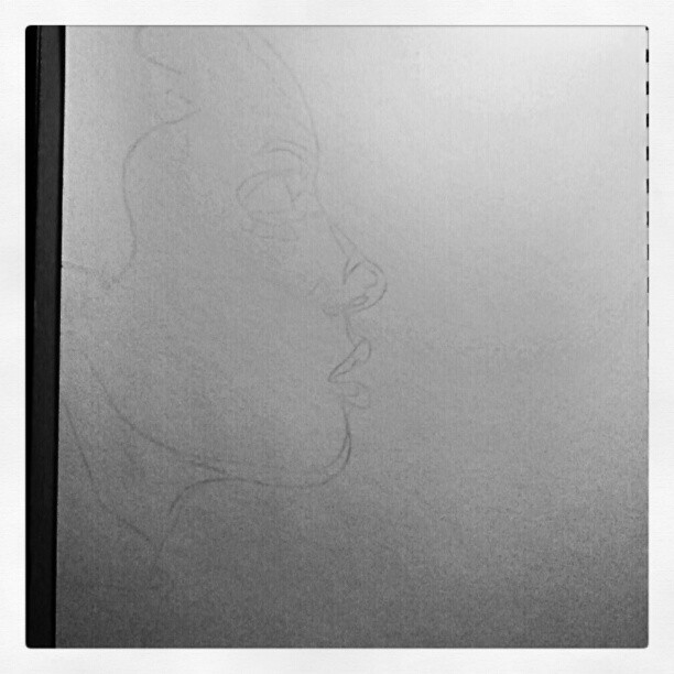 Taking a break from the the monotony of the last piece. #art #drawing. #wip