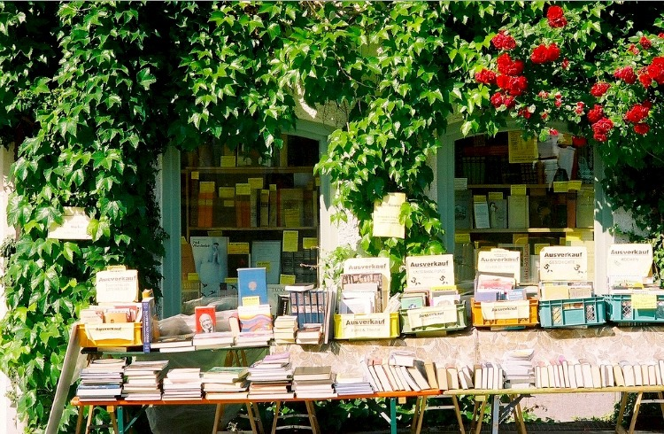 | ♕ |  Old bookshop in Munich  | by © beth mercer | via ysvoice