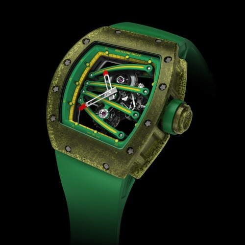 It sure won't make you run any faster, but the Richard Mille RM 59-01 didn't slow down Yohan Blake one bit.